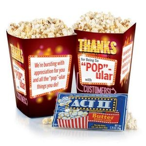"Thanks For Being So ""Pop""-ular With Customers! Popcorn Snack Pack"