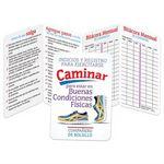 Custom Walking for Fitness Exercising Tips & Recorder Pocket Pal Brochure (Spanish)