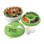 Custom Round Food Container w/Compartments (Personalized)