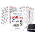 Custom Walking for Fitness Exercising Tips & Recorder Pocket Pal Brochure (English)