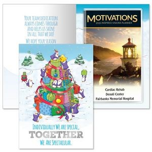 Individually We Are Special, Together We Are Spectacular Greeting Card With 2019 Motivations Planner
