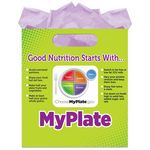 Custom Full-Color MyPlate Goody Bags (No Personalization)