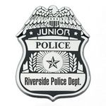 Custom Plastic Junior Police Badge (Personalized)