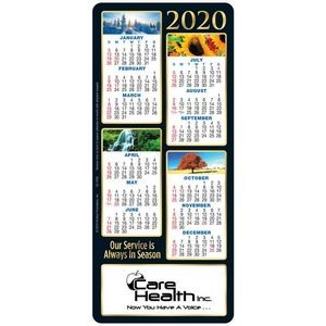 Our Service Is Always In Season 2019 E-Z Stick Deluxe Magnet Calendar - Personalization Available
