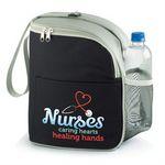 Custom Eastport Lunch/Cooler Bag (Nurses Caring Hearts Healing Hands, Black)