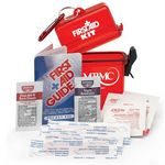 Custom Waterproof First Aid Kit W/Container, Brochure, Bandages, Sunscreen, & Wipes(Personalized)