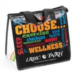 Custom Eco-Friendly Laminated Insulated Lunch Bag (Choose Wellness, Personalized)