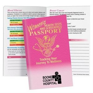 Women's Health Tests and Screenings Passport Pamphlet