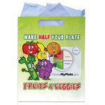 Custom Full-Color Fruits & Veggies Goody Bags (No Personalization)