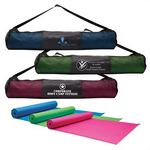 Custom Yoga Fitness Mat & Carrying Case