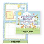Custom Watching Baby Grow First Year Keepsake Calendar w/Milestone Stickers & Pocket (Spanish Version)