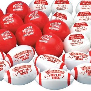 Drug Free Mini Sports Ball Assortment Pack