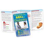 Custom Managing The ABCs Of Diabetes Pocket Pal Brochure