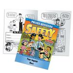 Custom Police Officers Teach Us About Safety Educational Activities Book (Personalized)