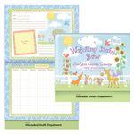 Custom Watching Baby Grow First Year Keepsake Calendar w/Milestone Stickers & Pocket