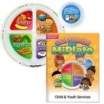 Custom Preschool Portion Meal Plate w/Activities Book (Personalized Spanish Version)