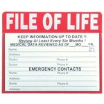 Custom File of Life Magnet