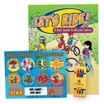 Custom Let's Ride! Value Kit W/Activity Book, Crayons, & Stickers
