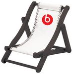 Custom Beach Chair Cell Phone Holder