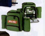 Custom Picnic Backpack for 2 w/ Wine & Cheese Service