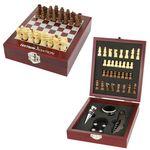 Custom Wine Tool Kit And Chess Set