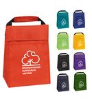 Custom Casca Insulated Polyester Lunch Sack w/ Velcro Closure