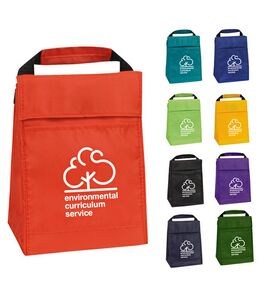 Casca Insulated Polyester Lunch Sack w/ Velcro Closure