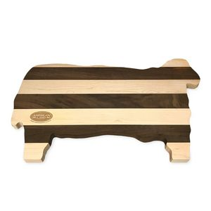 Lamb Shaped Wood Cutting Board