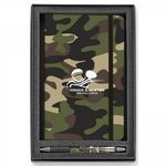 Custom Soft Touch/Camouflage 2-Piece Gift Set