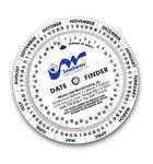 Custom Date Finder Calendar Wheel (6