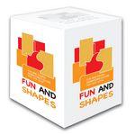 Custom Silkscreen Paper Multi Tac Full Cubes (2 3/4
