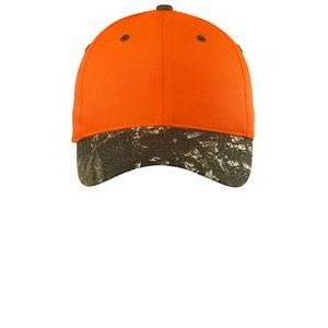 Port Authority® Enhanced Visibility Cap w/Camo Brim