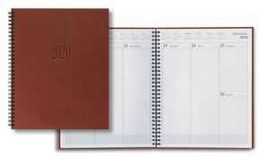 Custom 2018 Tucson Large Desk Wire Weekly Planner