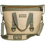 Custom YETI Hopper TWO 30- Field Tan/ Blaze Orange