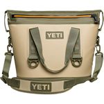 Custom YETI Hopper TWO 20- Field Tan/ Blaze Orange