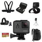 Custom GoPro HERO5 Black w microSD Card, Chesty, Headstrap, Tripod Mount, The Strap, Casey, Recon Backpack