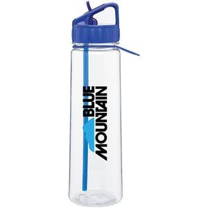 30 Oz. H2go Angle Bottle (Blue)