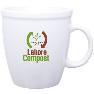 18 Oz. Coffee House Mug (White)