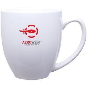 15 Oz. White Bistro Mug