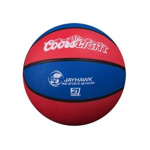 "Overseas Custom Rubber Mini 5"" Basketball"