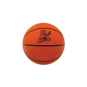 "Mini Rubber Basketball (7"" diameter)"