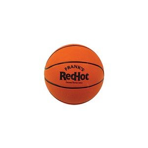 "Mini Rubber Basketball (5"" diameter) - 6 colors!"