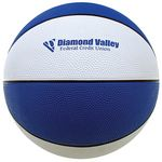 Custom Alternating Colored Official Size Rubber Basketball (9 1/2