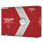 Custom Callaway Chrome Soft Golf Ball