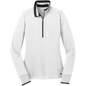 Nike Ladies Golf Dri-FIT 1/2 Zip Cover-Up-Flat Knit Collar