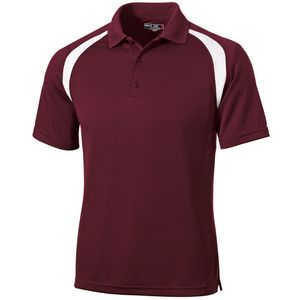 Sport-Tek Dry Zone Colorblock Raglan Polo Shirt