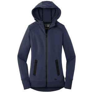 New Era Ladies Venue Fleece Full-Zip Hoodie