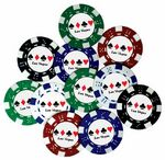 Custom Pad Printed Poker Chip