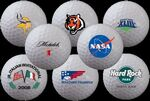 Custom White Bulk Generic Golf Balls