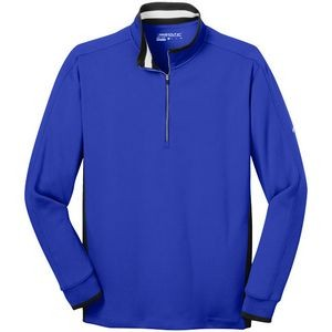 Nike Golf Dri-FIT 1/2-Zip Cover-Up-Flat Knit Collar